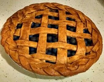 Faux Blueberry Pie