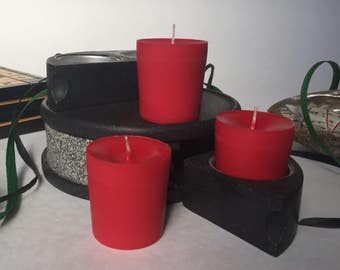 Cherry Scented Soy Wax Votives