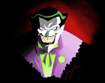 Joker - Digital Art Print