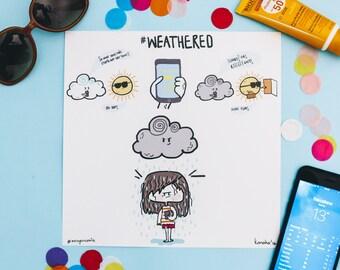 Weathered - Art Print