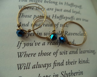 Ravenclaw Inspired Stackable Ring Harry Potter