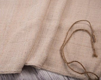 Plain Grain sack fabric Lake House cottage upholstery Grain Sack Fabric Antique linen Europe country cottage