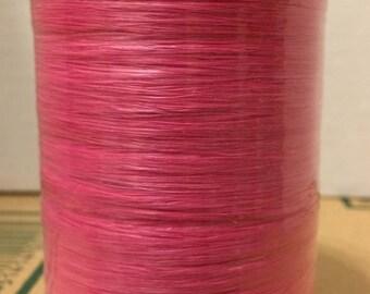 Raffia Wraphia paper raffia 100 yards bright pink