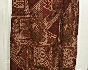 Boho Maxi Skirt Sz 14