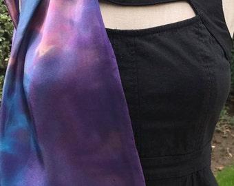 Dream Silk Scarf- Purple, Blue
