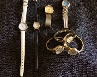 Watch Lot Featuring: Timex