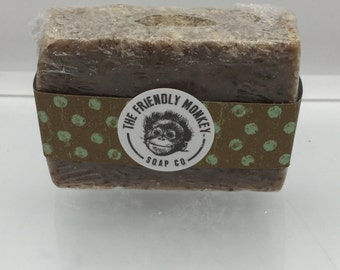 Morning Coffee handmade all natural exfoliating soap