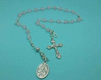 St Therese Chaplet Pocket Rosary