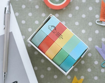 Rainbow Washi Tape Masking Tape Planner Stickers