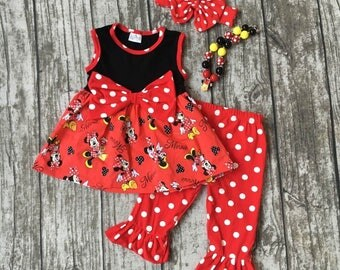 Lovely, Lovely, Lovely Minnie Mouse Girl Outfit