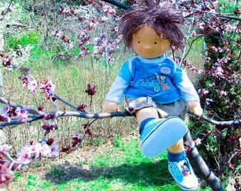 Waldorf Boy Doll - 17 inch