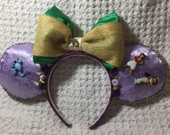 minnie headband aladdin theme