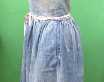 90s Ralph Lauren | Ralph Lauren vintage dress | Jeans vintage dress | Vintage denin dress | 90s vintage dress
