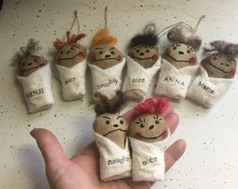 Baby doll ornament  Etsy