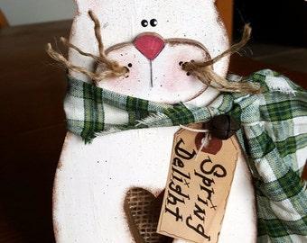 """Spring Delight 10"""" Tall Bunny"""