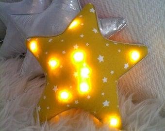 night light yellow star