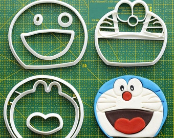Doraemon Fondant Cutter