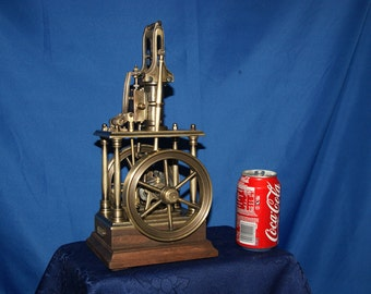 model live steam engine - brass