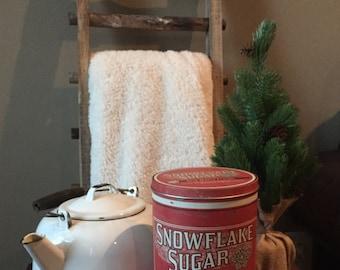 White Enamel Teapot