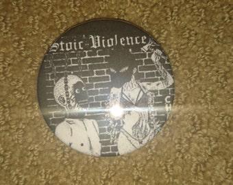 Stoic Violence pin