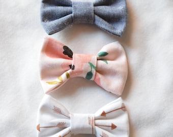 Baby hair bows - Set of 3