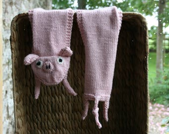Peggy Piglet Child's Scarf