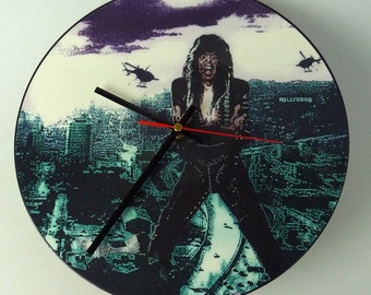 "W.A.S.P - Sunset & Babylon 12"" Picture Disc Record Clock"