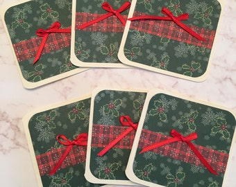 Holiday 3x3 Mini Cards - Set of 6