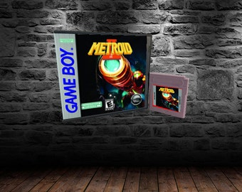 Metroid II DX - Hunt the Last Metroid in this Recolored Action Title - GB - Color Upgrade