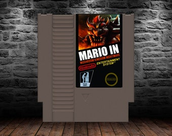Mario in Mushroom Kingdom Nightmare - Brutal Mario Game - NES - Nightmare in the Mushroom Kingdom