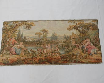 Vintage French Beautiful  Tapestry (2341)