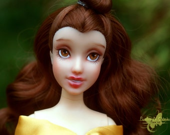 Belle Disney OOAK repaint doll