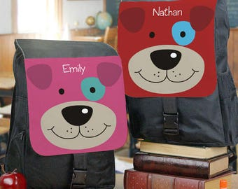 Personalized Puppy Backpack Custom Name Gift