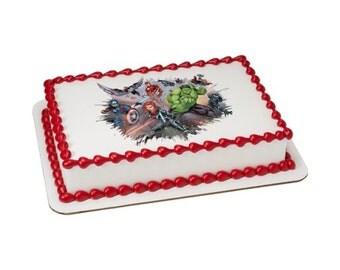 Avengers I am an Avenger Edible Cake Topper