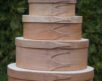 Nesting Shaker Style Boxes: Set of 5 Boxes