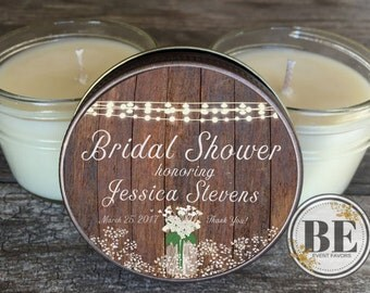 Bridal Shower Favors Set of 12 - 4 oz