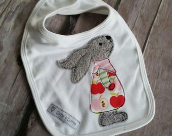 Machine embroidery applique Bunny Pauline (10 x 10)