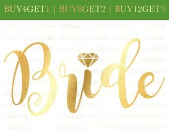 Bride Svg Cutting File Wedding Svg Bachelorette Svg Team Bride Svg Wedding Svg Cutting File Bridal Party Svg Bride Svg Flower Girl Svg