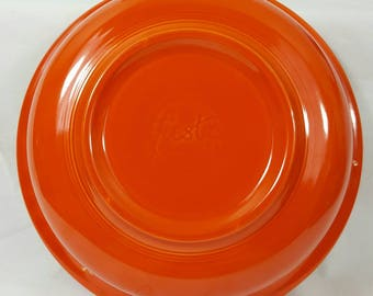 "Vintage Red Fiesta 8 1/2"" Nappy Bowl"