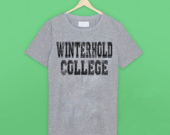 Skyrim Winterhold College T Shirt