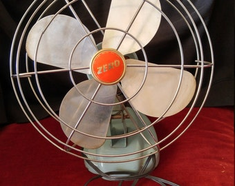 Vintage Zero Oscillating Fan--Reduced