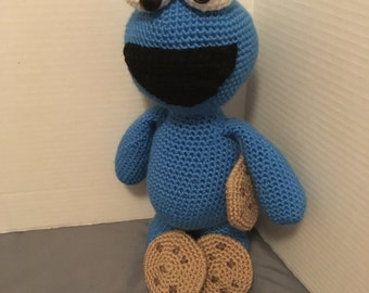 Crochet Cookie Monster