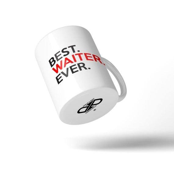 Best Waiter Ever Mug - Great Gift Idea Stocking Filler
