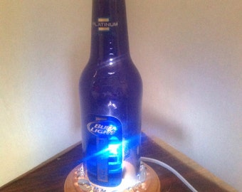 Beer bottle lamp | Etsy