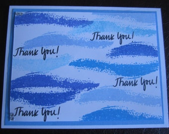 Thank You - Blue Waves