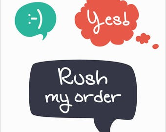 Rush My Order 2 Business Days
