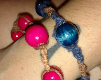 Retro hemp bracelets