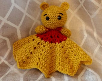 Crochet Winnie The Pooh Inspired Lovey