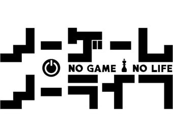 No Game No Life -- Anime Decal Sticker for Car/Truck/Laptop/Window