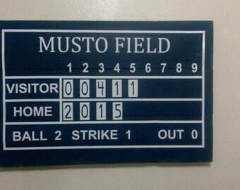 Anniversary Scoreboard